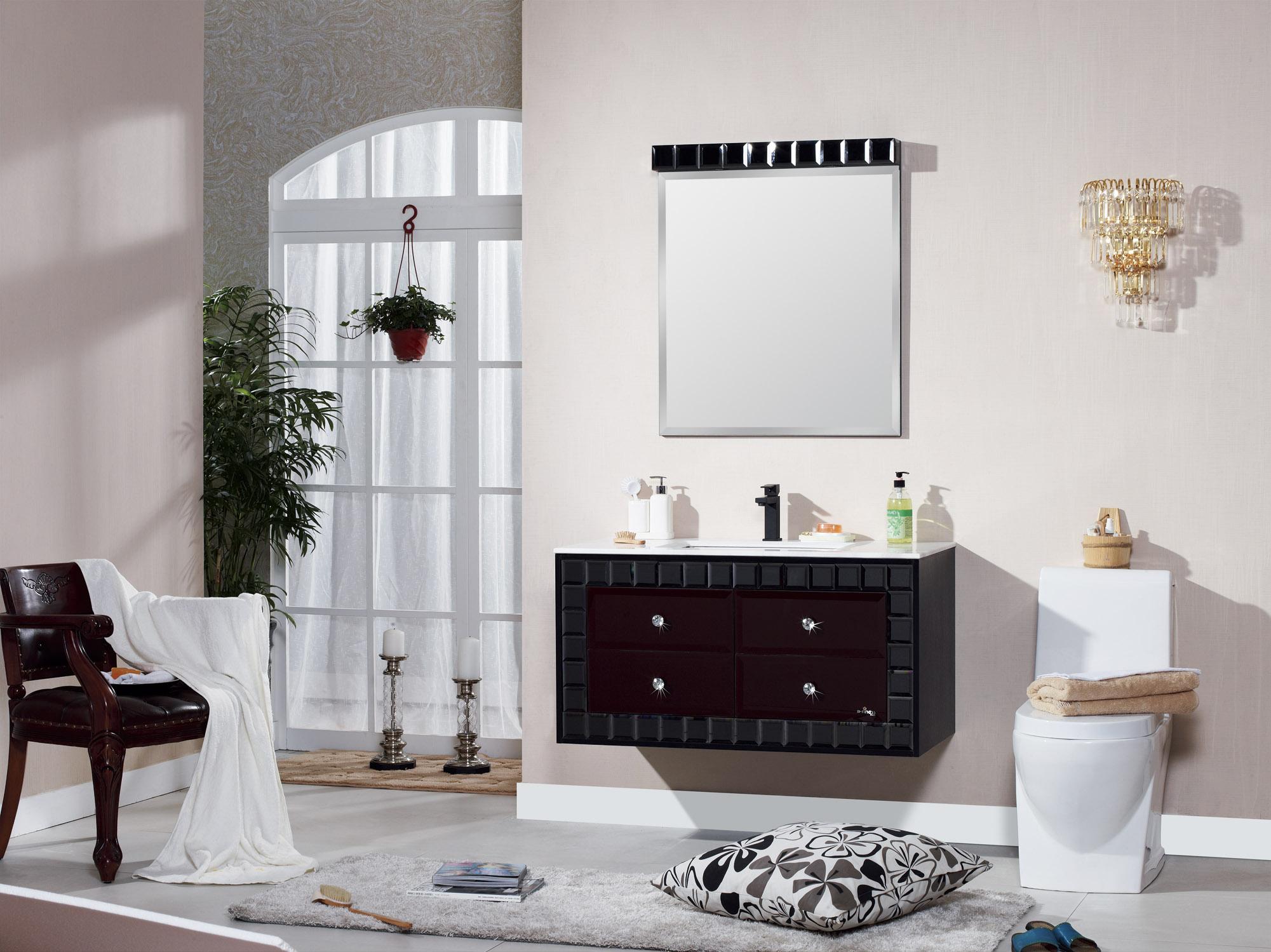 Meuble salle de bain luxe s 3032 nouvelle ceramique for Meuble salle de bain de luxe